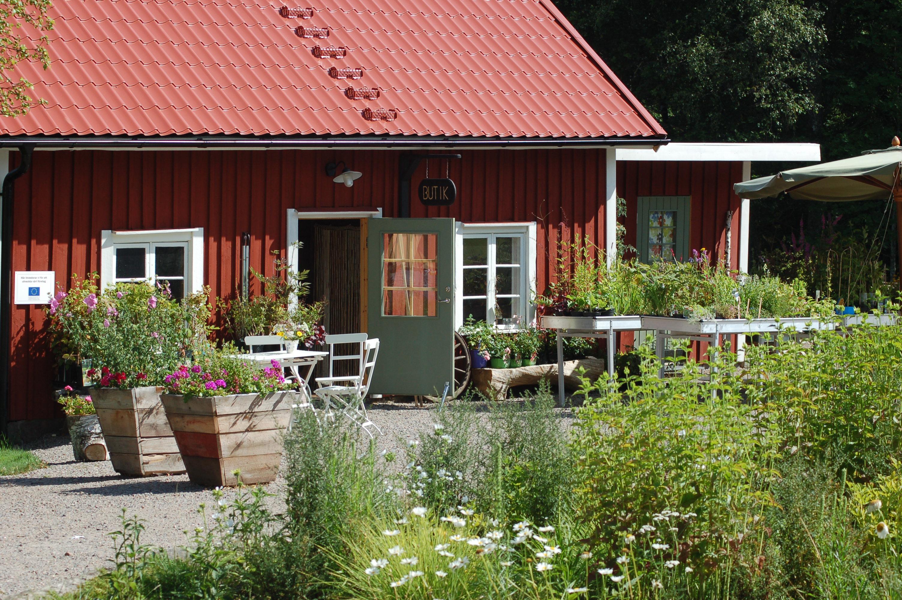 trädgårdsbutik